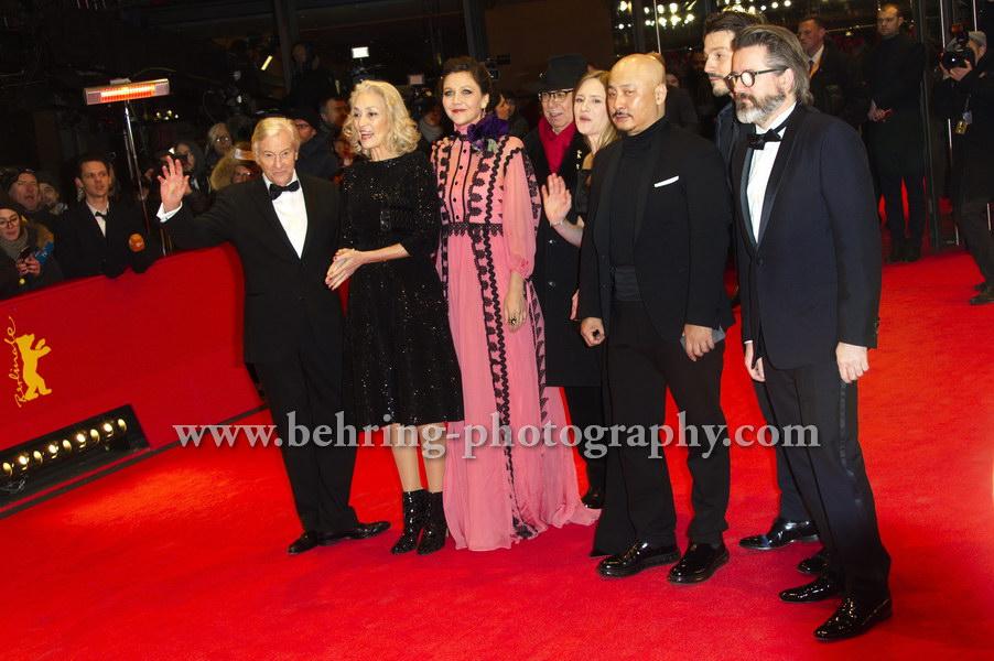 """DJANGO"", Red Carpet, 67. BERLINALE, Berlinale-Palast, 09.02.2017"