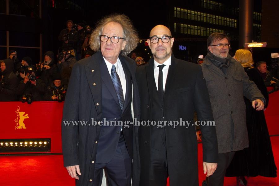 """FINAL PORTRAIT"", Red Carpet, 67. BERLINALE, Berlinale-Palast, 09.02.2017"