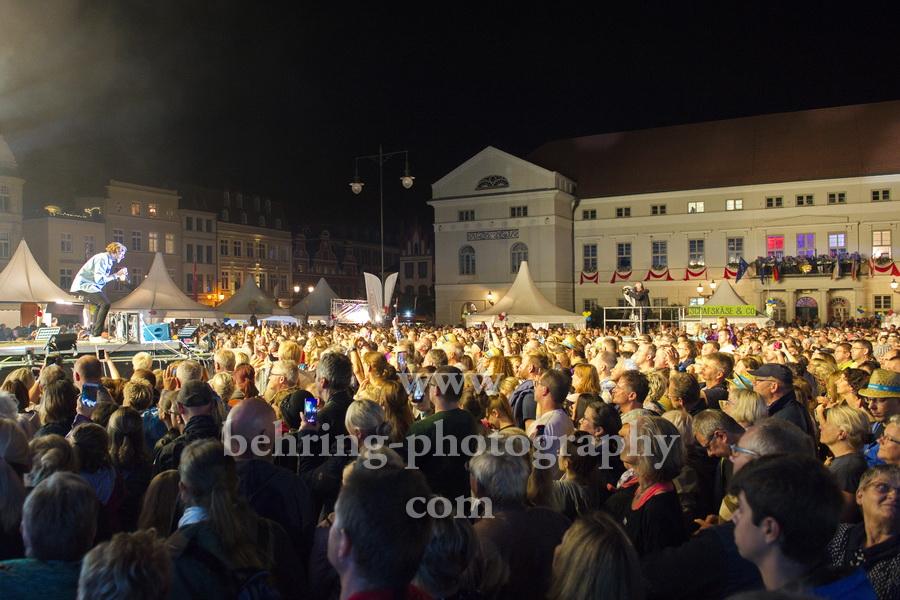 DR-SOMMERTOUR mit Special Guest ALVARO SOLER beim Schwedenfest in Wismar, 17.08.2019
