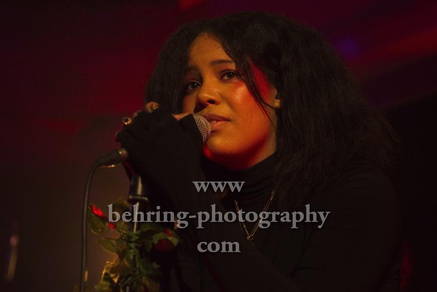BABY ROSE, erstes Konzert in Deutschland, Kantine Am Berghain, Berlin, 04.03.2020