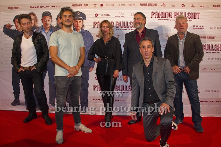"""FAKING BULLSHIT"", Photo Call, Cinemaxx am Potsdamer Platz, Berlin, 09.09.2020"