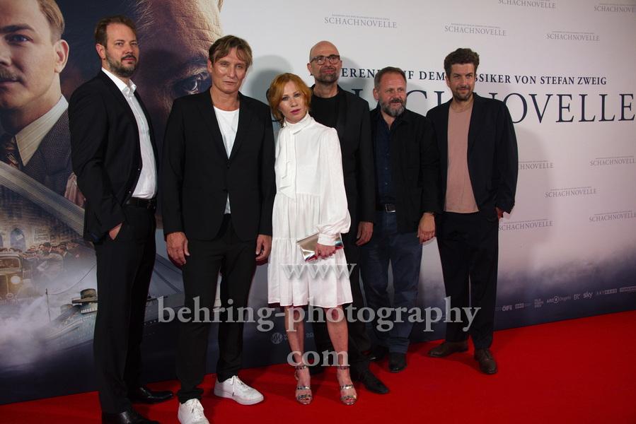 """SCHACHNOVELLE"", Premiere, Kino International, 08.09.2021"